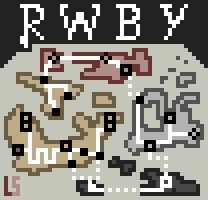 RWBY Map PixelSpin by laserswords