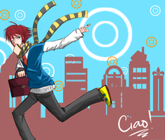 Ciao by flying-paper-planes