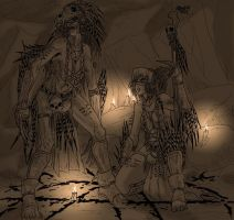 Witches of the forest of Ded by Shabazik