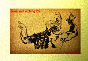 Clone of Nail tonal etching 2 by hazeldazel