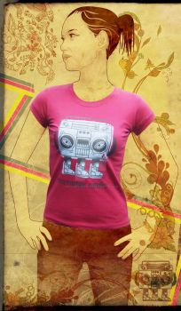 maonsteradio girl pink by bigtimeplankton3