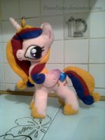 Princess Cadance Plush new version by CaveLupa