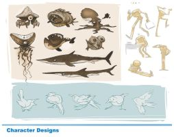 Character Design Page2 by alxcote