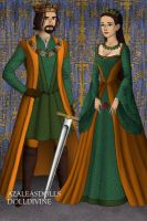 King Frank and Queen Helen by loverofbeauty