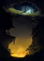 Entrance to Hell by patricia-steves