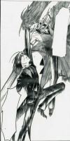 Sebastian vs Grell by ShadowofChaos666