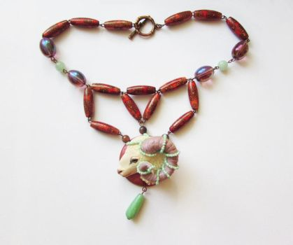 Aries necklace by AlinaFM