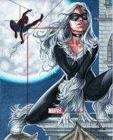 Marvel Bronze Age Black Cat AP by Dangerous-Beauty778