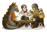 OUAT-RI: Tea Party by Dekujin