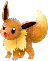 Eevee by Sulfura