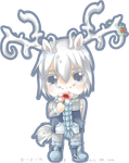 Request : Gray Blue Deer by KazugaMei5