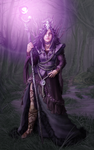 Purple Witch by TheRogueSPiDER