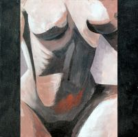 Nude, my favorite painting I ever did. by UntouchableDesign