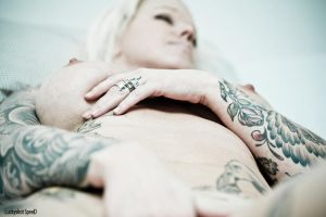 in bed with mrs.White Trash by mrswhitetrash