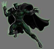 Green Lantern Black Panther by Lord-Lycan