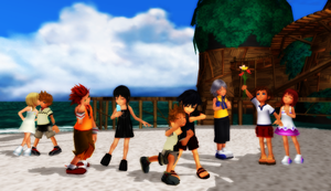 Kingdom hearts: Kids! by VirtuousNamine