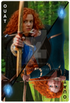 OUAT card Merida by jeorje90