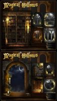 Magical Hallows by cosmosue