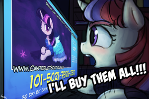 s5e14(canterlot boutique) moon dancer's reaction by luminaura