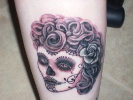 sugar skull girl by jenna3174
