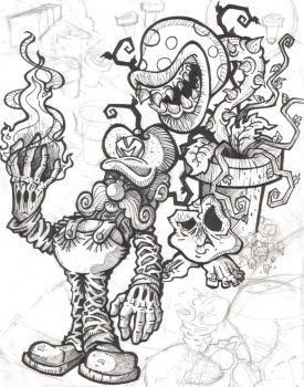 Evil Mario Incomplete by sirhcsellor