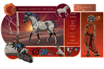 Adhara//Exile Scout//Mare//Lvl 8 by Ginger-Goddess