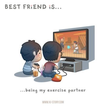 BFF Ep.03 Exercise Partner (Boy) by hjstory
