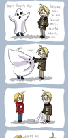 APH- It's a ghost by Frostpebble