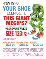 Robot Shoe Sizing Chart by pinguino