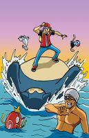 SNORLAX used SURF by TheSteveYurko