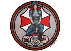 In Preparation - Jill Valentine by ArtBySabinaE