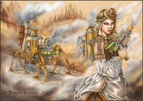 Steam Invasion by RossanaCastellino