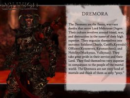 Dagon's Creatures: The Dremora by jag1221