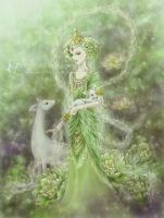 Lady of Compassion by aruarian-dancer