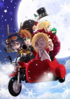 .:Gn'R Merry X'Mas 2012:. by PrinceOfRedroses