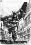 The Running Batman by agussumantri