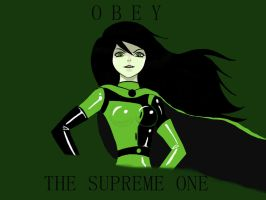 Shego -  Obey the Supreme One by xiaxian