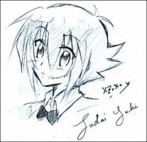Roughsketch : Yuki Judai by Hazuha