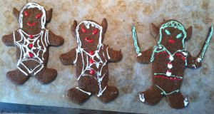 Gingerbread Drow by Tanorax