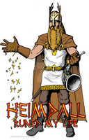 """Heimdall Runed My Life"" by StephenBergstrom"