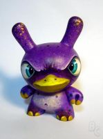 Purple Platypus Dunny by bryancollins