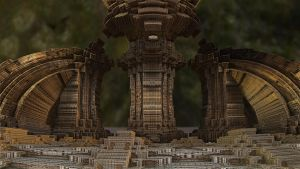 Ancient Temple by Topas2012