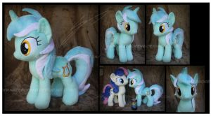 Lyra Heartstrings Custom Plush by Nazegoreng
