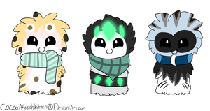 ScarfBlob Adopts 2 by CaramelCocoaAdopts