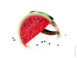 Watermelon Ring by allim-lip