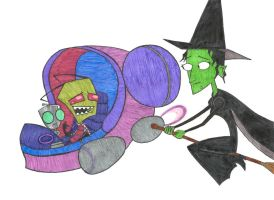 ZimxWicked Witch of the West by Maran-Zelde
