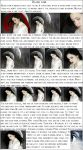 Black Hair tutorial by Kechake