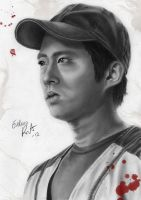 Glenn Rhee by evelinappm
