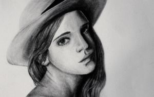 Emma Watson by iam-holly