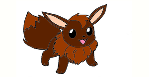 Fritzy the Eevee by PerkyPitch